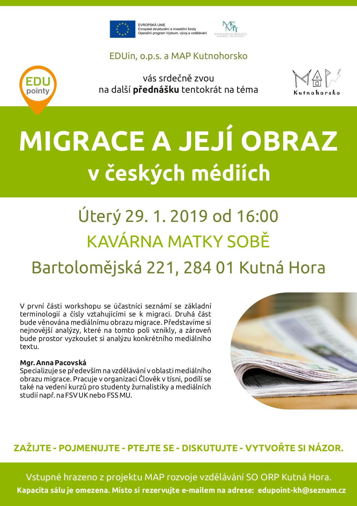 You are currently viewing Migrace a její obraz v českých médiích