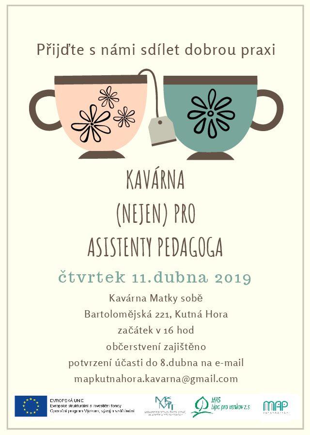 Pozvánka na Kavárnu (nejen) pro asistenty pedagoga