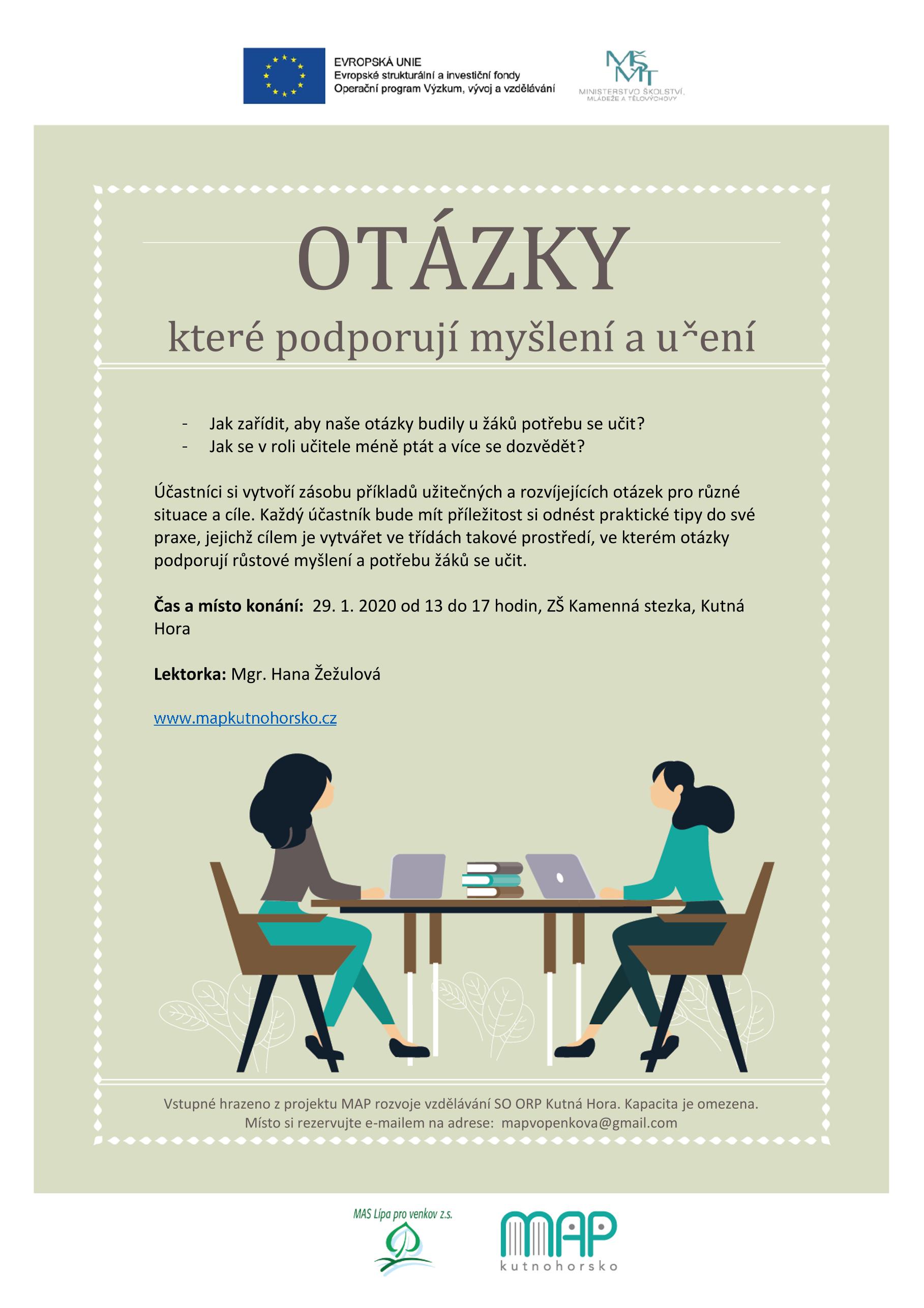 You are currently viewing Nabitá série workshopů pro pedagogy