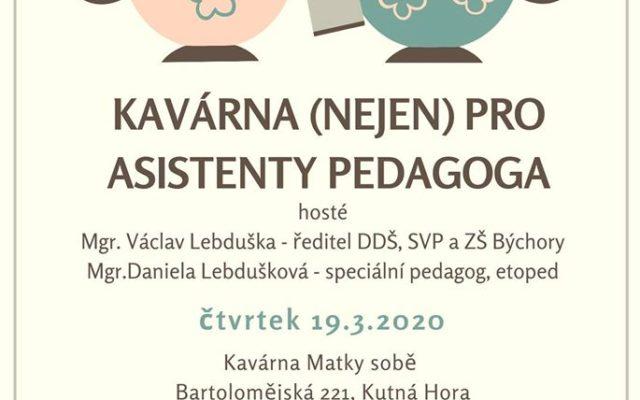 V Kavárně budeme pokračovat se systémy služeb a podporou dětí s poruchami chování