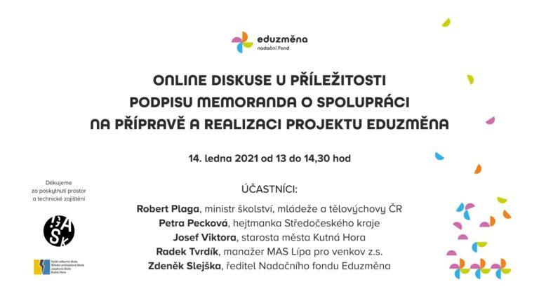 Read more about the article Kutnou Horu navštíví ministr školství a hejtmanka Středočeského kraje
